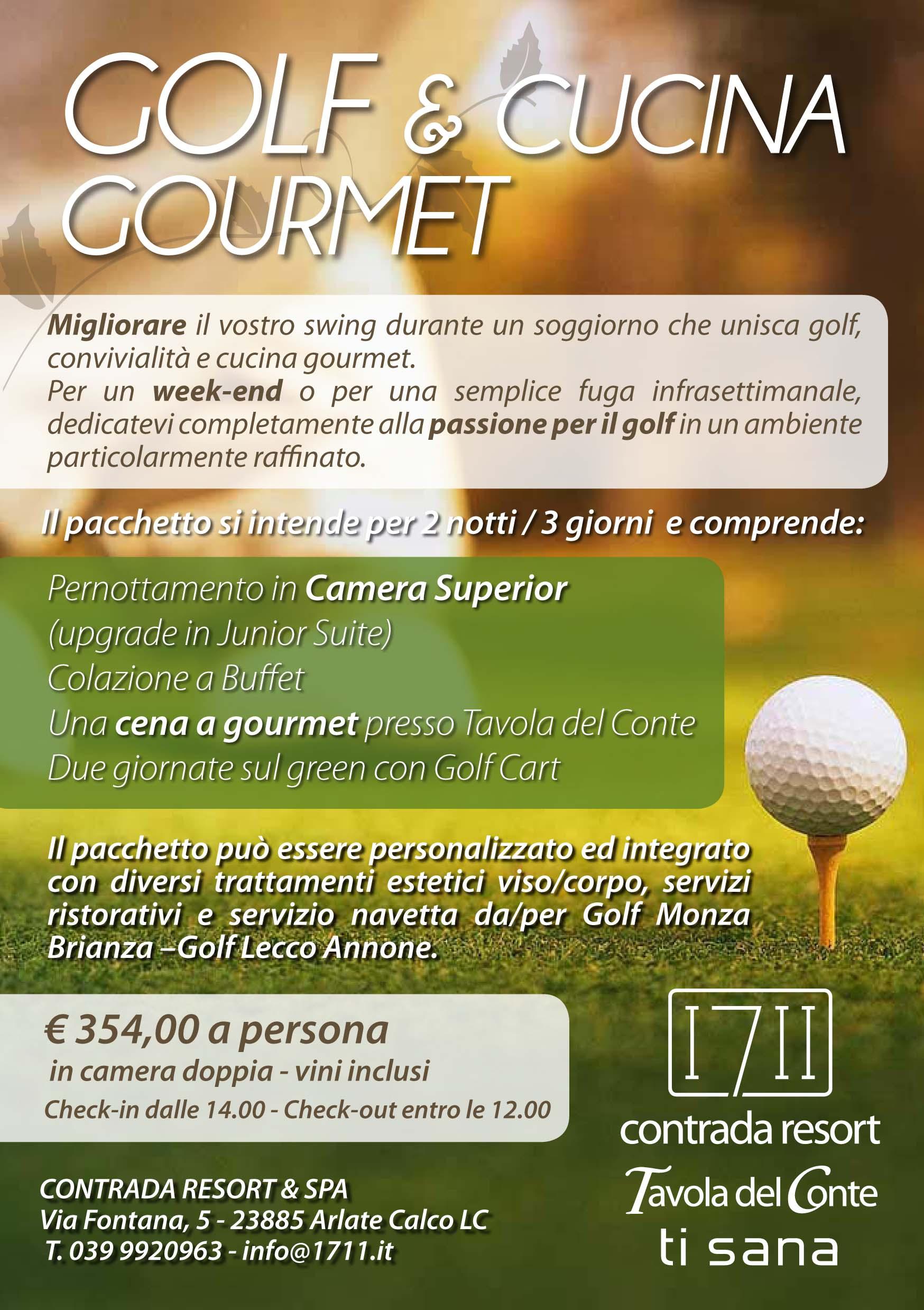 soggiorni golf | 1711 Ti Sana Detox Retreat & Spa